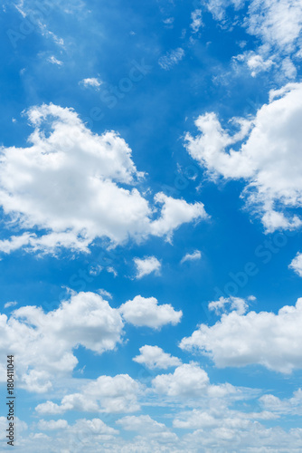 Aluminium Prints Heaven clear blue sky background,clouds with background.