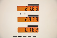 Fuel Prices Sign At The Servic...