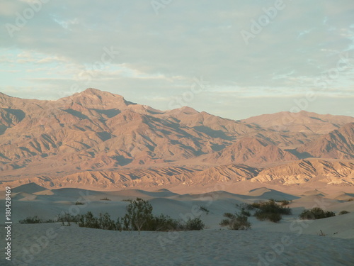 Foto op Aluminium Arctica Death Valley Mountains