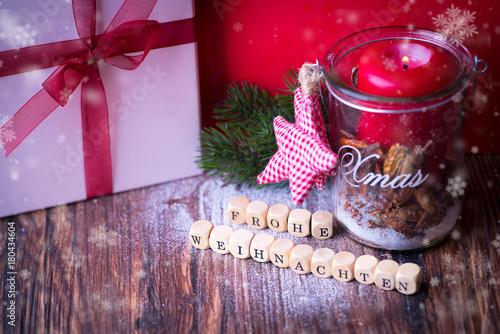Frohe Weihnachten Grüße.Frohe Weihnachten Gruß Kaufen Sie Dieses Foto Und Finden Sie