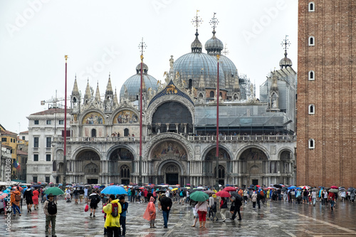 Foto op Aluminium Carnaval St. Mark's Cathedral. Venice, Italy