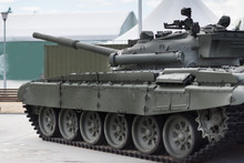 Russian Main Battle Tank On Th...