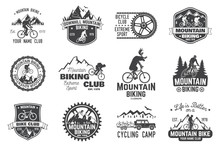 Mountain Biking Collection. Ve...