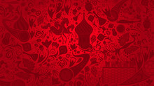 Russian Red Wallpaper, Vector ...
