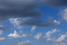 青空と雲「空想・雲のモンスターたち(現れ始めたモンスターたちのイメージ)」(現れ始めた、多種多様なイメージなど)