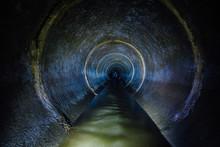 Dark Underground Sewer Round C...