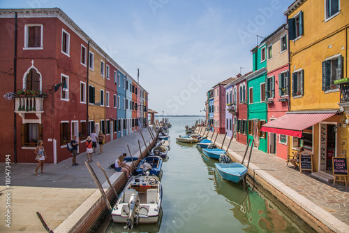 Aluminium Prints Venice Murano and Burano in Italy