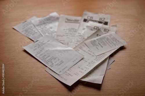 Fotografia, Obraz  Tickets de caisse