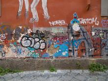 Graffitti In Den Strassen Von ...