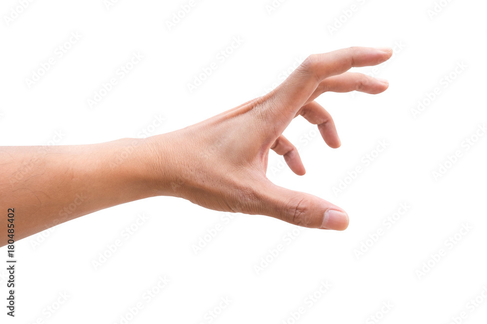 Fototapety, obrazy: Isolated hand reaching out