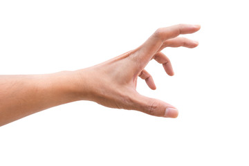 Odosobniona ręka dosięga
