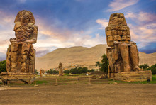 Colossi Of Memnon, Egypt