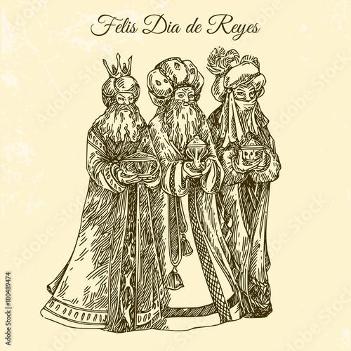 Photo Three king