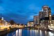 Leinwanddruck Bild - Malmö City by Night