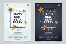 Happy New Year Party Invitatio...