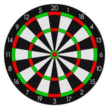 Darts. Sports Dartboard With T...