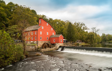 The Historic Red Mill In Clint...