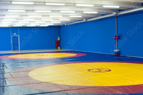 Fototapeta gym for wrestling