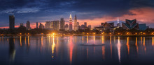 Panorama View Of Kuala Lumpur ...