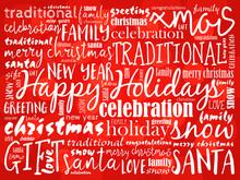 Happy Holidays And Happy New Y...