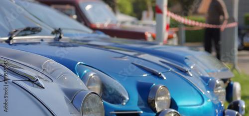 Fotografie, Obraz  exposition de voitures de sport de collection