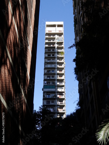 Keuken foto achterwand Buenos Aires high rises at Belgrano neighborhood, Buenos Aires, Argentina