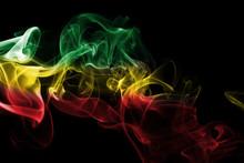 Ethiopia National Smoke Flag