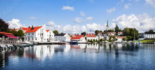 Foto auf Gartenposter Skandinavien Norwegen, Lillesand,
