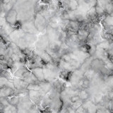 Monochromatic Marble Texture - Silver and Gray Veined Marble - 180579842