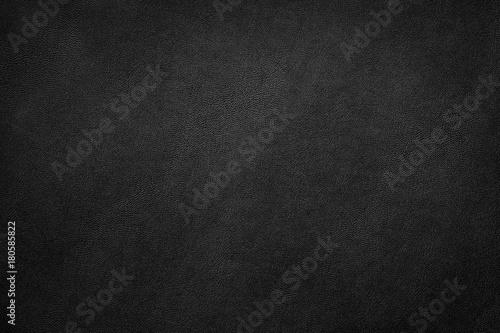 Fotografía  Black leather texture background, Leather  background.