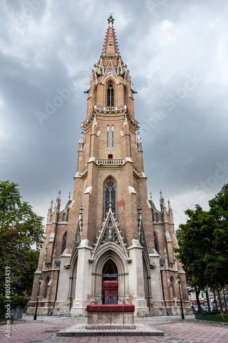 Obraz na dibondzie (fotoboard) Św. Othmar wśród białych garbarzy Kościół katolicki w Wiedniu