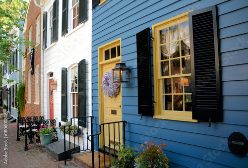 Photo Row Houes, Old Town Alexandria VA