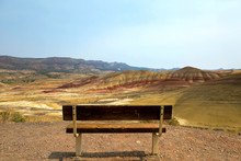 Bench View At Painted Hills Ov...