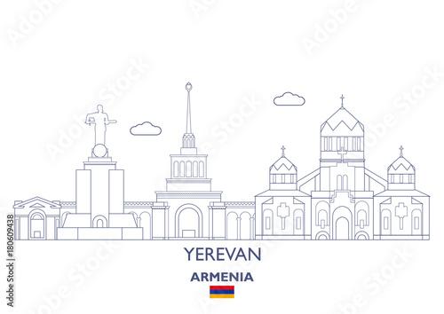 Photo Yerevan City Skyline, Armenia