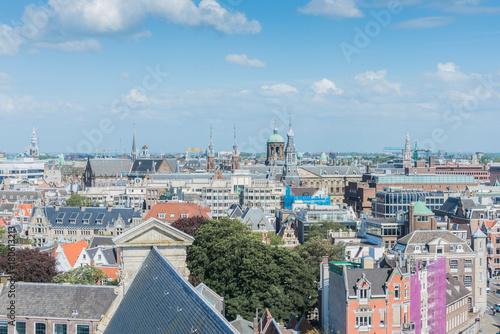 Obraz na dibondzie (fotoboard) Zachodni kościół w Amsterdam, holandie.