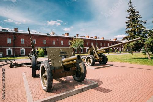 Zdjęcie XXL Brest, Białoruś. Old Armon In Memorial Complex Brest Hero Fortress