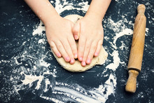 A Photo Of Child Hands With Cu...