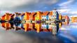 Bunte Häuser Groningen Hafen