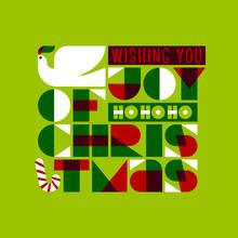 Christmas Greeting Card With J...