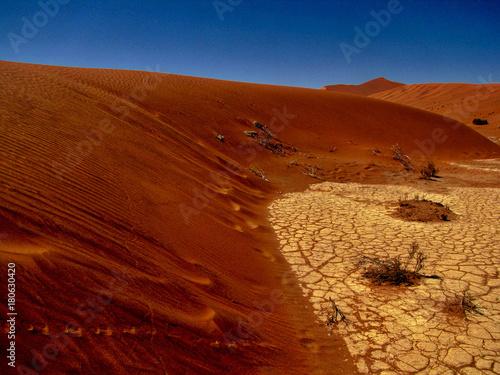 Foto op Aluminium Rood paars Namibia
