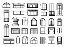 Vector Illustrations Set With ...
