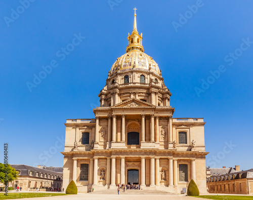 Foto op Plexiglas Historisch geb. Church of the House of Disabled, Paris, France
