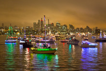 Boats On The Harbor During Chr...