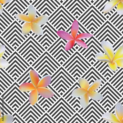 bezszwowe-art-deco-kwadratowe-szewrony-i-tropikalne-kwiaty-wektor-wzor