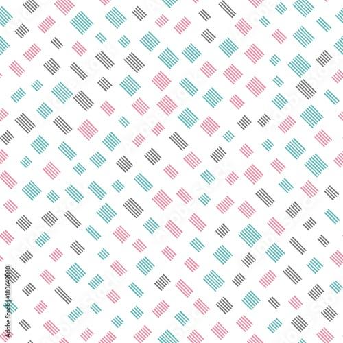 Zdjęcie XXL Powtarzalny wzór z paskami na białym tle. Bezszwowe wektor wzór. Ręcznie rysowane obraz.
