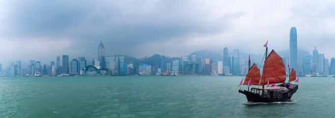Fototapeta hong kong scenery