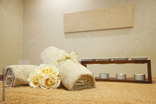 Fotografie, Obraz  エステ サロン マッサージ ベッドルームのイメージ