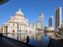 Boston Cityscape From Christia...