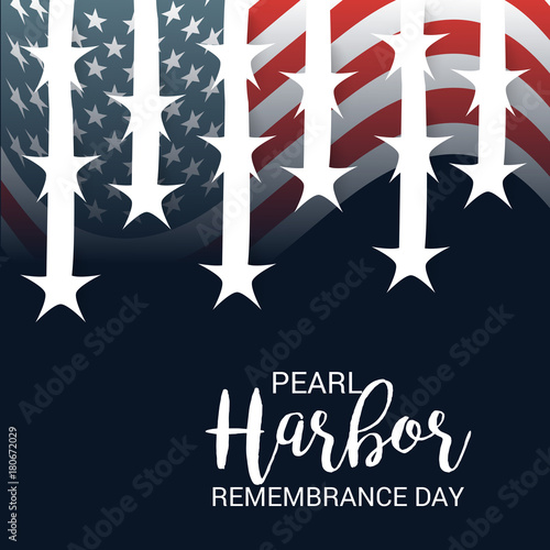 Pearl Harbor Remembrance Day. Canvas Print
