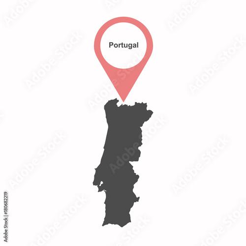 Photo  Portuguese-map-vector